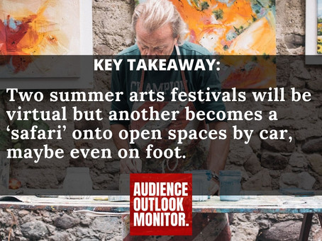"""""""Connecticut summer theater festivals reinvent  themselves for social distancing"""""""