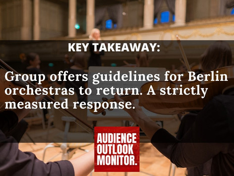 """""""Berlin study issues recommendations for orchestral distancing"""""""