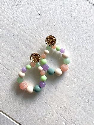 Boucles d'oreilles Meyro multi