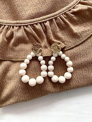 Boucles d'oreilles Meyro nude