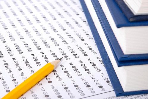 SAT Prep Course, Dec 5th test