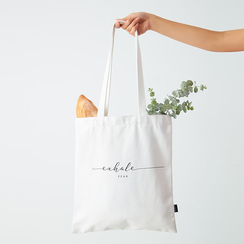 Inhale and Exhale - Tote Bag