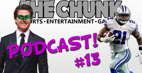 Pre-Draft Fantasy Football Tips and Tom Cruise as Green Lantern?! - The Chunk Podcast #13