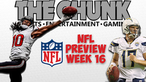 Week 16 NFL Preview - Are the Chargers the Best Team in LA? - The Chunk Sports Podcast #23