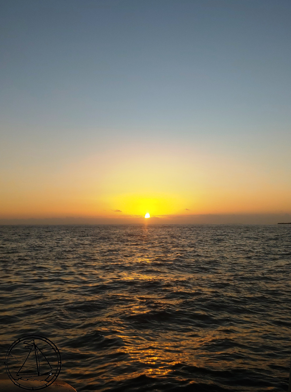 sunrise, morning, passage, underway, exuma sound