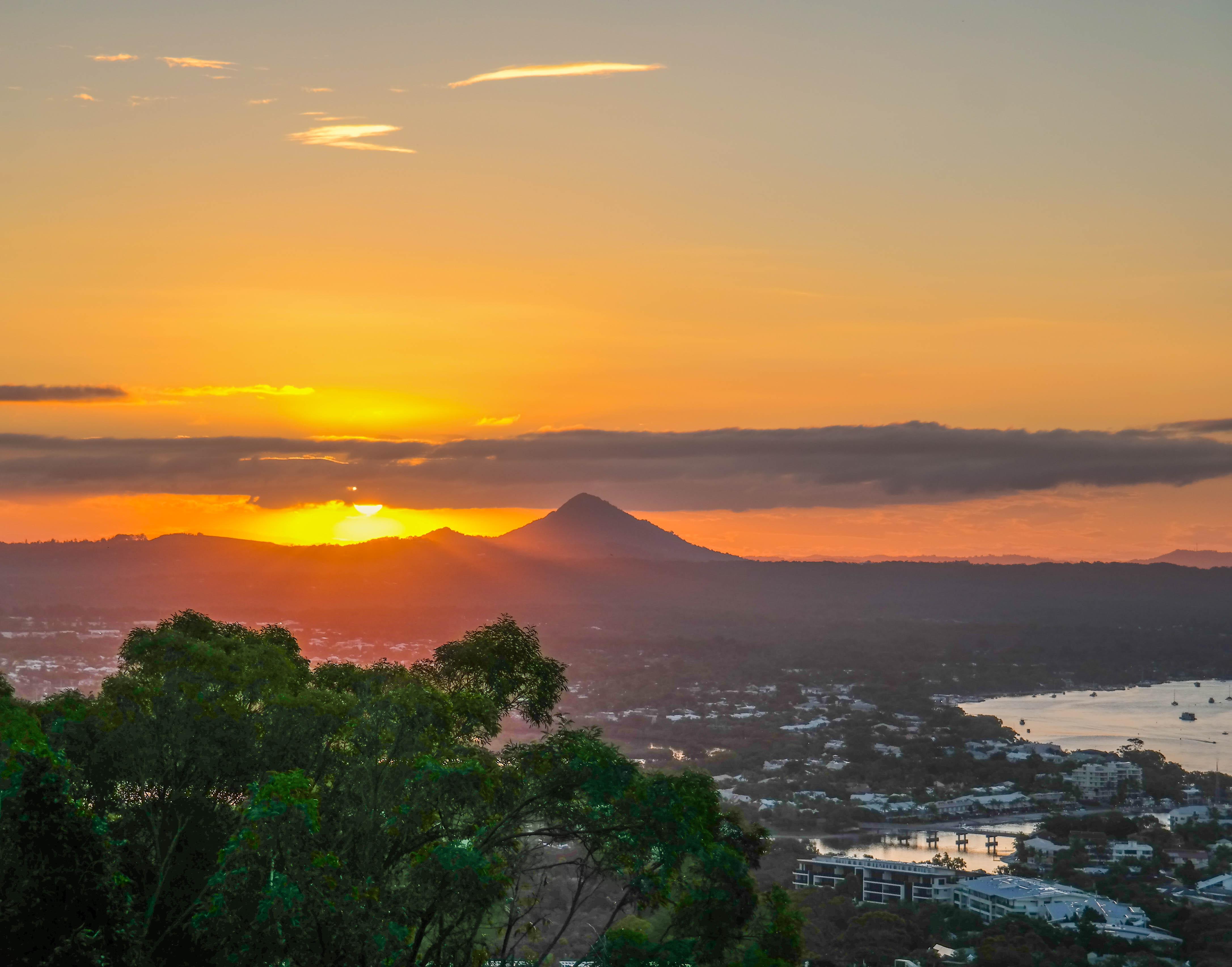 noosa, sunset, noosa river,australia