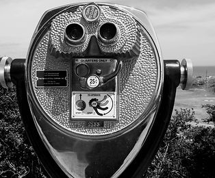 black and white quarter binoculars