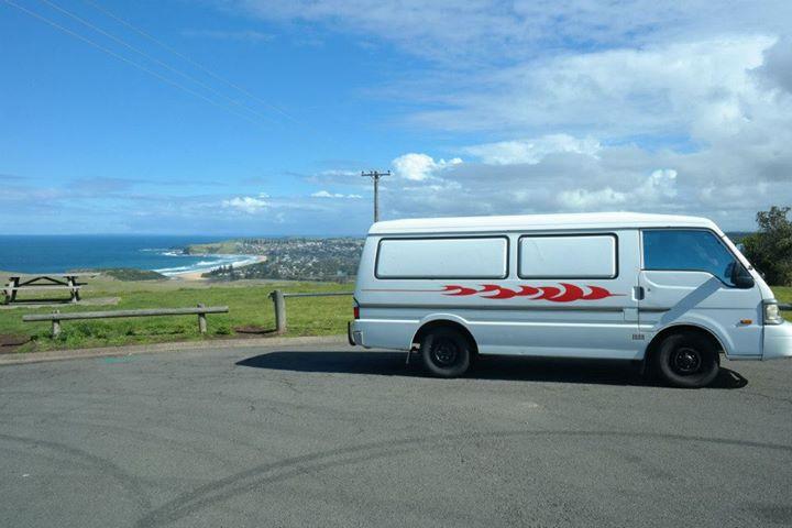 mazda e2000, campervan, australia, road trip, van life