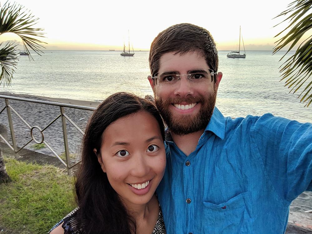 couple, sailing couple. cruising couple, usvi, super maramu, bvis