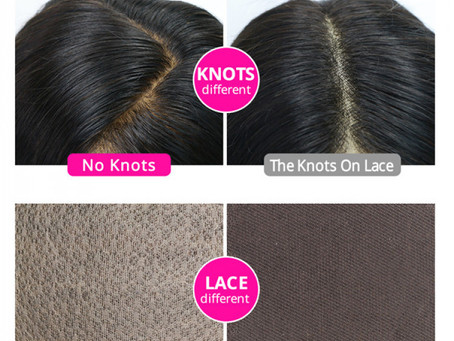 Whats the difference between Silk Base and Lace Wig