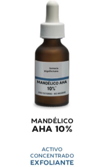 Concentrado activo gotas Acido Mandélico AHA 10%