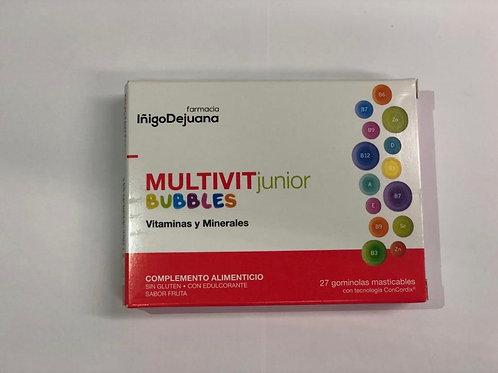 multivit junior bubbles 27 gominolas