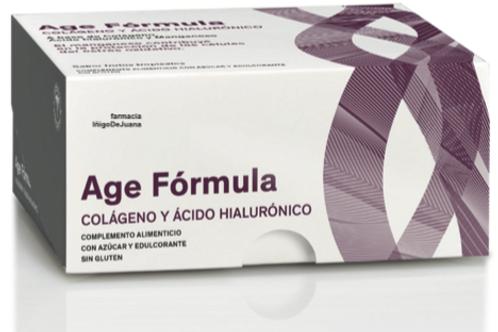 Age Fórmula colágeno + hialurónico 20 viales