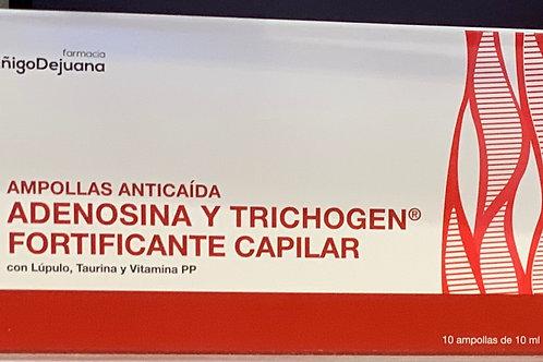 Ampollas adenosina y trichogen