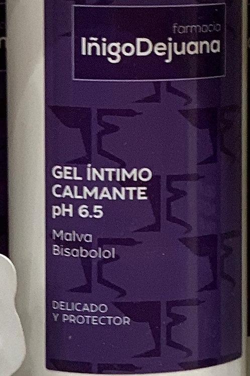 gel íntimo calmante pH 6.5 malva