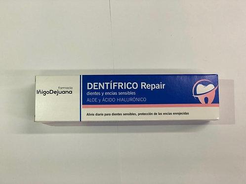 dientes dentífrico repair