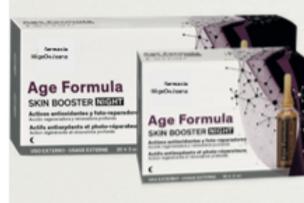 Age fórmula skin booster night 30 ampo