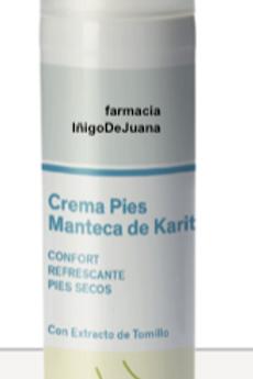crema pies hidratante manteca Karité75 ml