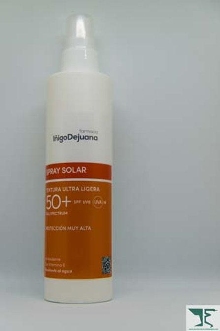 spray solar FPS 50+ tex ultra ligera 200 m