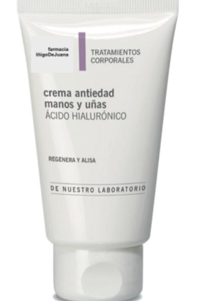 Crema manos antiedad ac hialurónico 75 ml