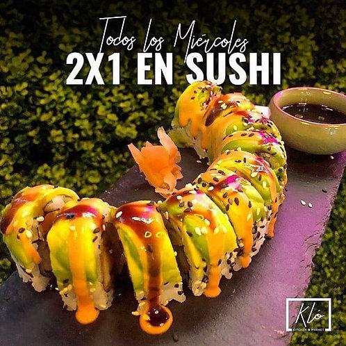Don Emilio 2X1 Sushi