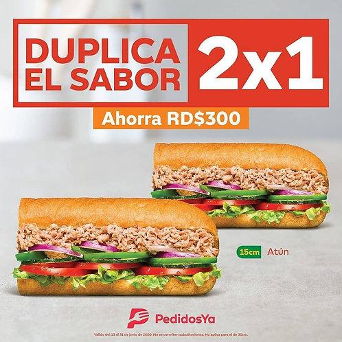 Subway Duplica el sabor
