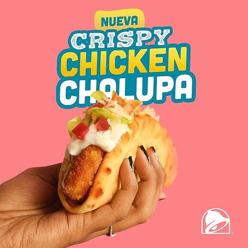 Taco Bell Crispy Chicken Chalupa
