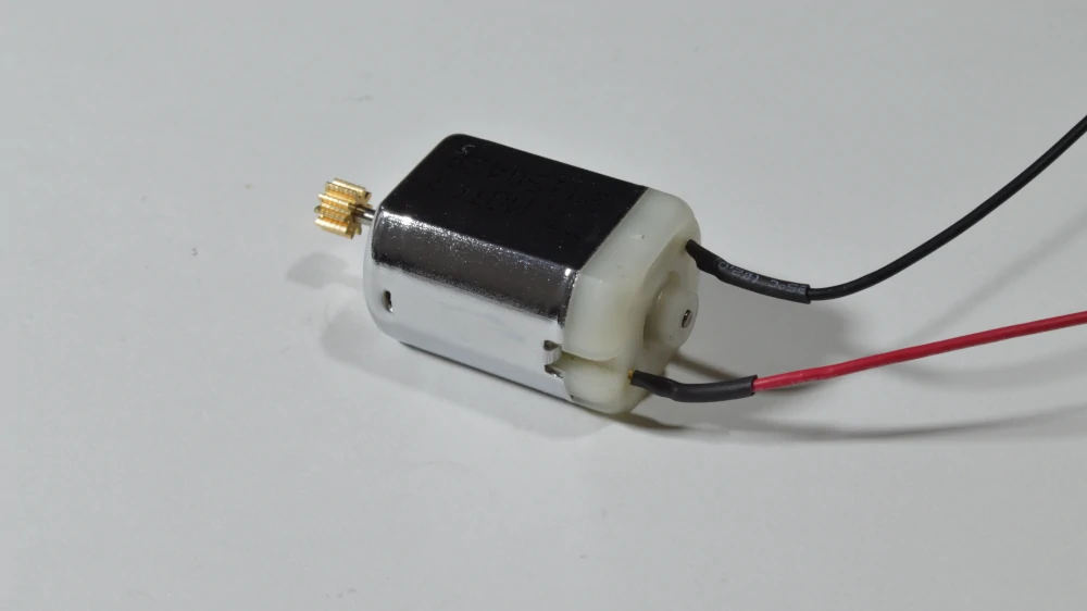 The brushed DC motors is one of the easiest actuators to use.