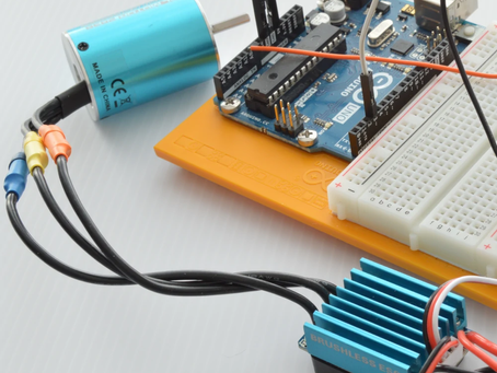 Controlling a Brushless Motor with Arduino