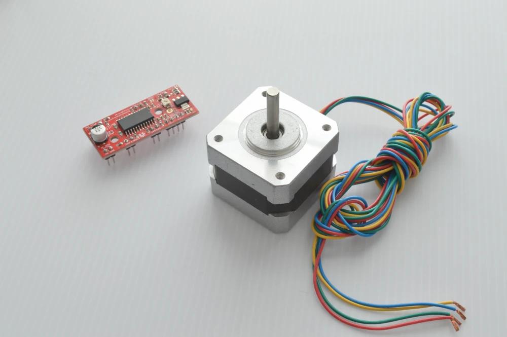Stepper motor and motor controller