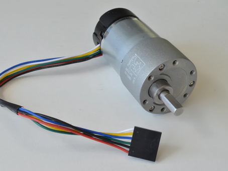 Using a DC Brushed Motor with a Rotary Encoder