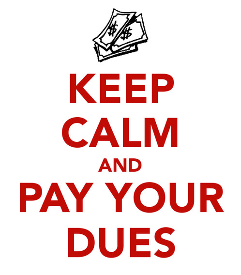 Image result for membership dues