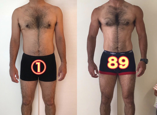 41歳・男性 筋トレ開始1年の成果