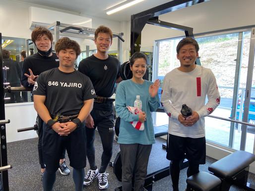 ソフトバンクホークス投手陣自主トレ!