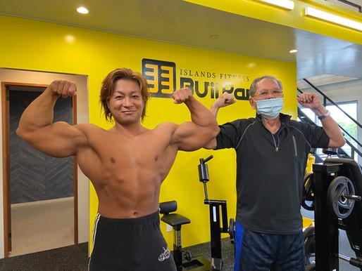 ビルパニ鬼木氏のマッスルライン 講習会!