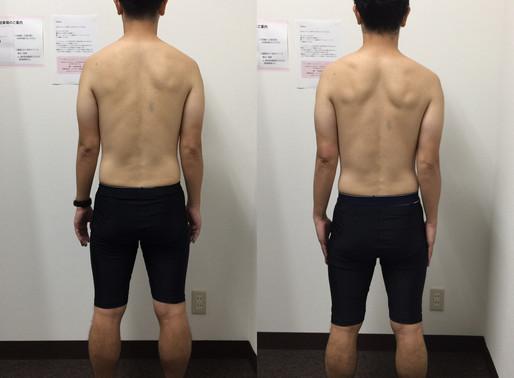 39歳男性モニタートレーニング1ヶ月経過