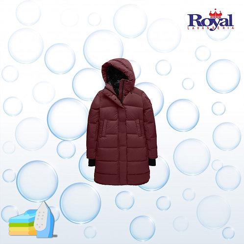 Solo Planchado de Coat mediano / Abrigo mediano