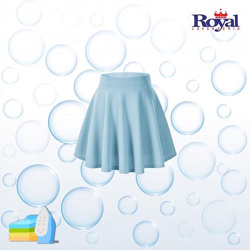 Solo Planchado de Falda corta / Mini falda