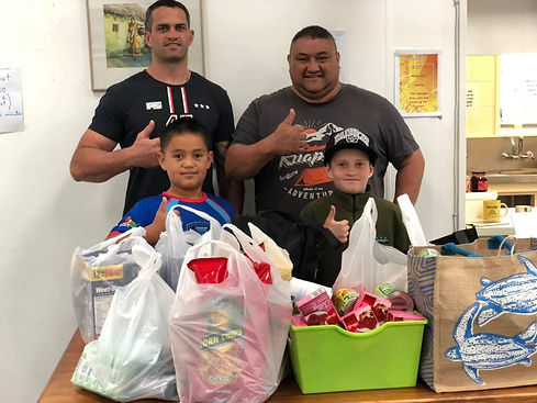 Whanau Day - Visions of a Helping Hand