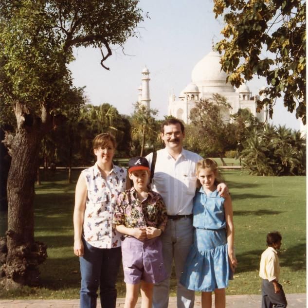At the Taj Mahol