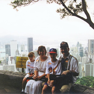 The family in Hong Kong