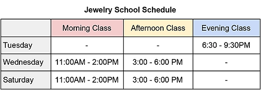 Jewelry School Schedule.png