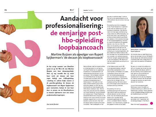 Interview Martine Buijsen & LOB123 in DecaZine