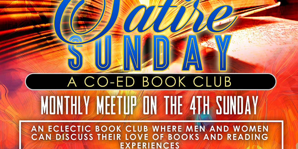Satire Sunday Book club