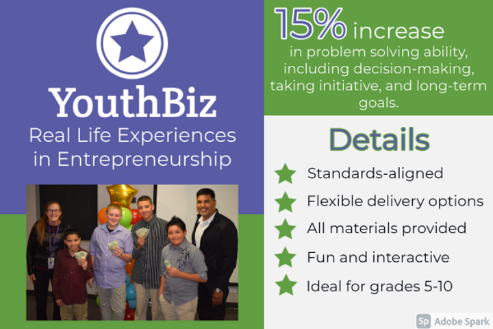 YouthBiz, a Program of Young Americans Center
