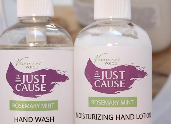 Lotion & Hand Wash Set - Rosemary Mint