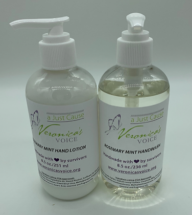 Lotion & Hand Wash Set - Rosemary Mint