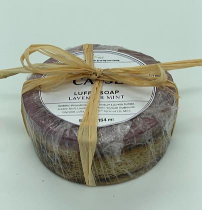 Luffa Soap - Lavender Mint
