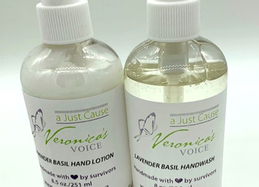 Lotion & Hand Wash Set - Lavender Basil