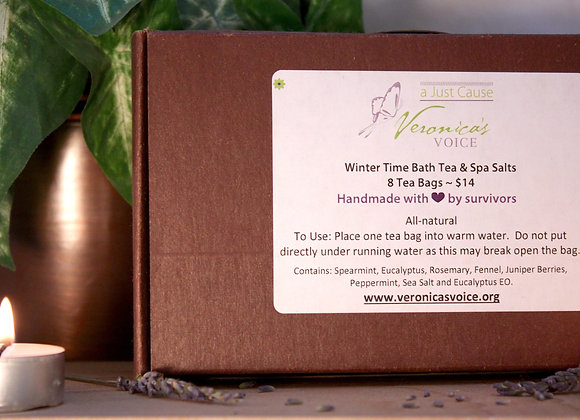 Bath Tea - Winter Time, Box of 8